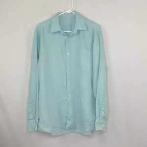 Tommy Bahama Linen Long Sleeve Button Down Shirt